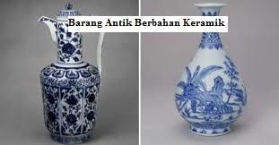 Merawat Barang Antik yang Berbahan Keramik