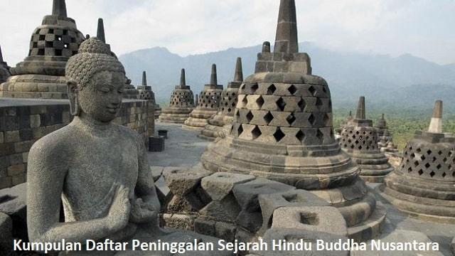 Kumpulan Daftar Peninggalan Sejarah Hindu Buddha Nusantara
